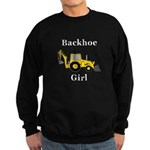 Backhoe Girl Sweatshirt (dark)
