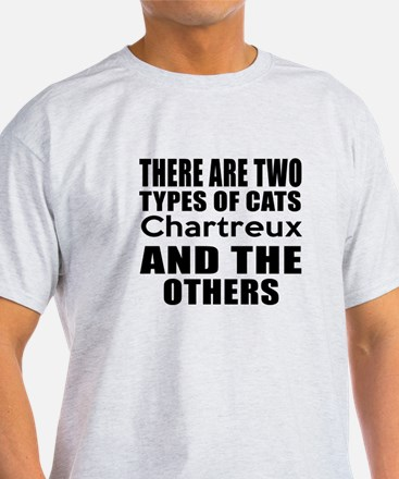 There Are Two Types Of Chartreux Cat T-Shirt