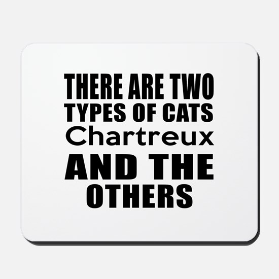 There Are Two Types Of Chartreux Cats De Mousepad
