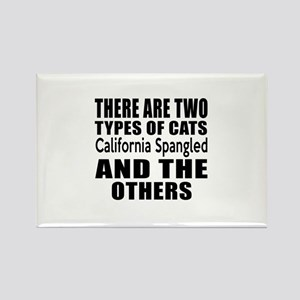 There Are Two Types Of California Rectangle Magnet
