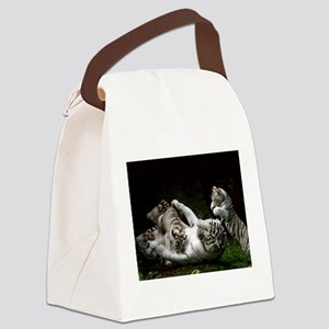Tag Team Canvas Lunch Bag
