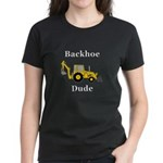 Backhoe Dude Women's Dark T-Shirt