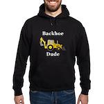 Backhoe Dude Hoodie (dark)