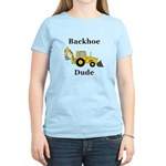 Backhoe Dude Women's Light T-Shirt