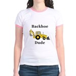 Backhoe Dude Jr. Ringer T-Shirt