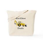 Backhoe Dude Tote Bag