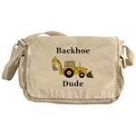 Backhoe Dude Messenger Bag