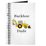 Backhoe Dude Journal