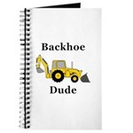 Backhoe Dude Journal