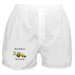 Backhoe Wizard Boxer Shorts