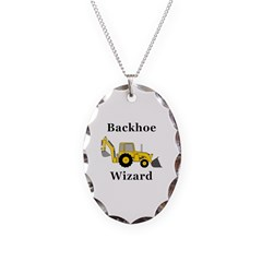 Backhoe Wizard Necklace