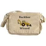 Backhoe Wizard Messenger Bag