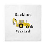 Backhoe Wizard Queen Duvet
