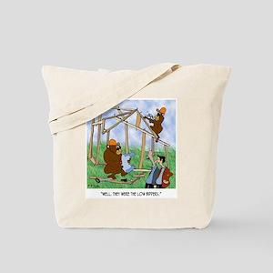 They Were Low Bidders Tote Bag