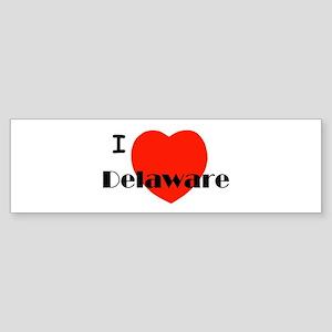 I love Delaware! Bumper Sticker