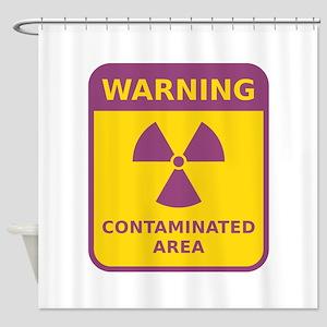 Contaminated Area Shower Curtain