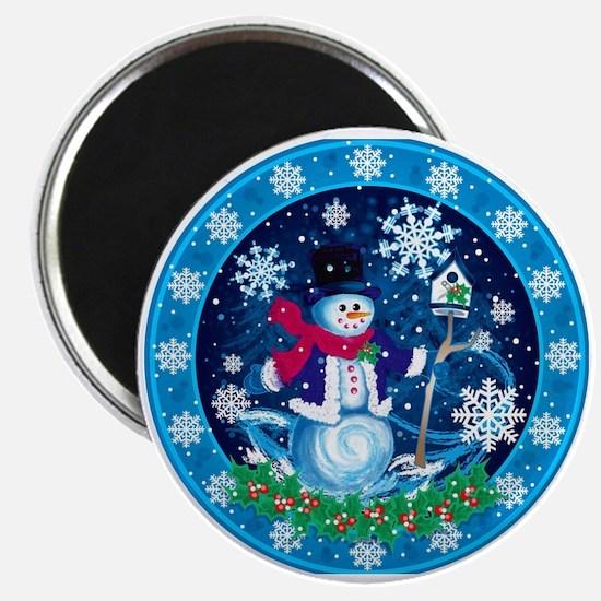 Wonderland Snowman Magnet Magnets