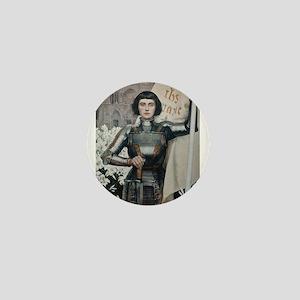 Joan of Arc Mini Button