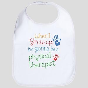physical_therapist_future_colored Baby Bib