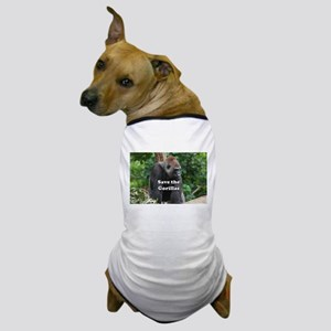 Save the Gorillas Dog T-Shirt