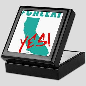 #CALEXIT YES! California Secede Keepsake Box