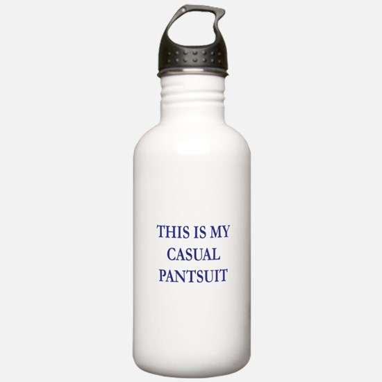 THIS IS MY CASUAL PANTSUIT Water Bottle