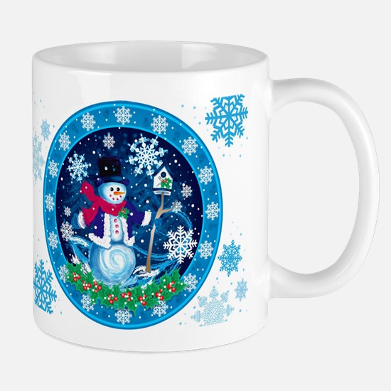 Wonderland Snowman Mugs