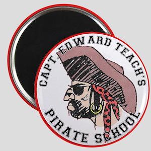 Pirate School Magnet