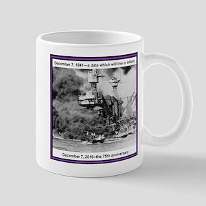 Pearl Harbor 75th Mug