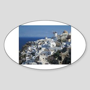 Santorini Sticker