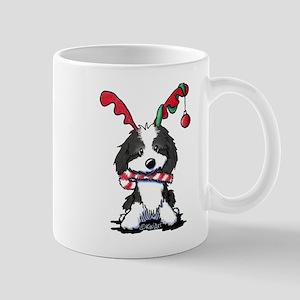 KiniArt Cockapoo Reindeer 11 oz Ceramic Mug