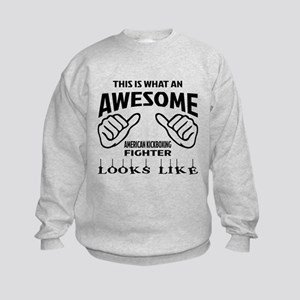 This is what an awesome American k Kids Sweatshirt