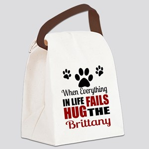 Hug The Brittany Canvas Lunch Bag