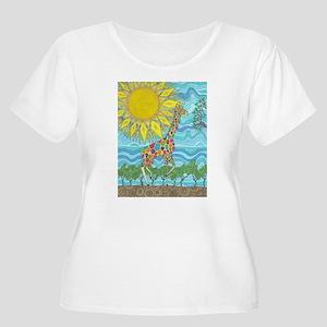 African Rainbow Plus Size T-Shirt