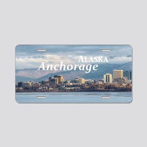 Anchorage Aluminum License Plate