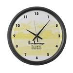 Anchorage Large Wall Clock