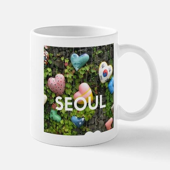 Seoul Locks of Love Mugs