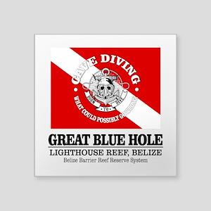 Great Blue Hole Sticker