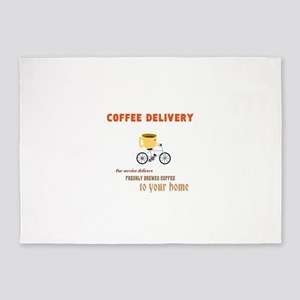 COFFEE 5'x7'Area Rug
