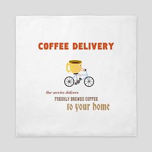 COFFEE Queen Duvet