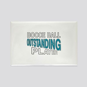 Bocce Ball Outstanding Player Rectangle Magnet