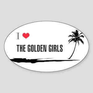 I Love Golden Girls Sticker