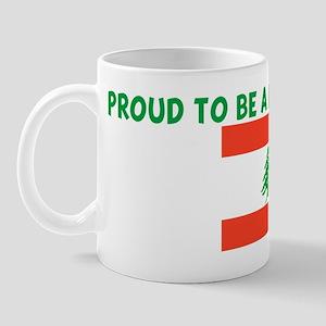 PROUD TO BE A LEBANESE MOM Mug
