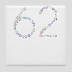 62 (Candies) Tile Coaster