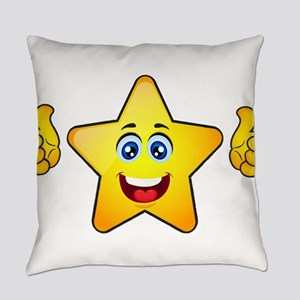 Thumbs up star Everyday Pillow