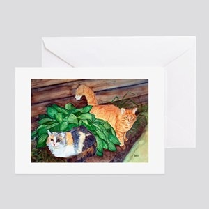 Cat Friends:Salem & Logan Greeting Cards (Package