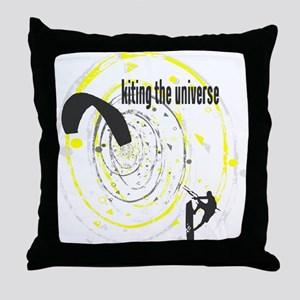 Kiting The Universe Throw Pillow