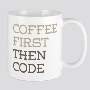 Coffee Then Code Mugs