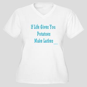 Make Latkes Plus Size T-Shirt