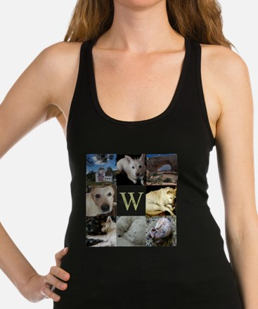 Photo Block with Monogram and Name Tank Top